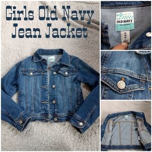 Girls Old Navy Jean Jacket